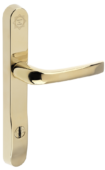 prosecure door handle 240mm gold